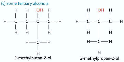 tertiary alcohols