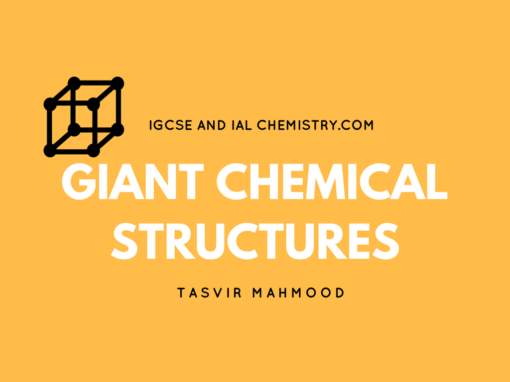 giant chemical structures