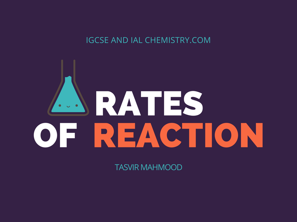rates of reaction
