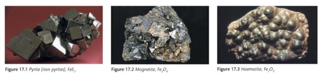 ores of iron