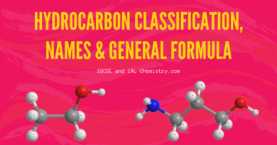 hydrocarbon classification